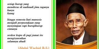 K.H M. Sahal Mahfudz. Ilustrasi: NusantaraNews.co