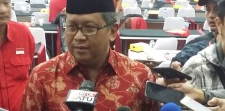 Sekjend DPP PDIP Hasto Kristiyanto/Foto Ucok AA/Nusantaranews