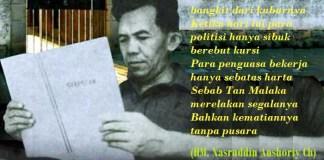 Tan Malaka sedang membaca. Foto: rosodaras