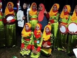 Lomba Qasidah Antar Gugus Depan Meriahkan Perkemahan Malam Pertama di Buki. Foto Fadli Syarif/ NusantaraNews.co