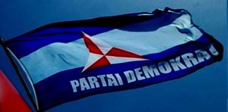 Bendera Partai Demokrat (Ilustrasi). Foto: Istimewa/NNC
