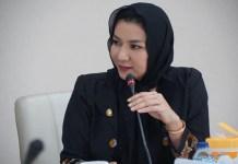 Bupati Kutai Kartanegara, Rita Widyasari. (Foto Eddy Santri/Nusantaranews)