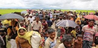 Dalam sepekan, sedikitnya 400 Rohingya tewas akibat kekerasan dan pembunuhan. (Getty Images)