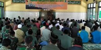 Awali Tahun Baru Islam, Kodim 0802 Ponorogo Gelar Doa Keselamatan Bangsa. Foto Muh Nurcholis/ NusantaraNews