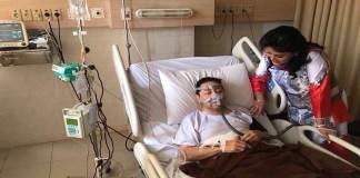 Setya Novanto dikabarkan sedang tidak sehat, sampai harus menjalani operasi pemasangan ring jantung dan dirawat inap di Rumah Sakit Premiere Jatinegara, Jakarta Timur. (Foto: Istimewa/Andika)