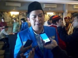 Ketua Umum PB PMII Agus Herlambang (Foto Romandhon/Nusantaranews)