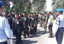 Para Aparat Bersinergi Amankan Tradisi Suro di Madiun/Foto Dok. Rantelino/Nusantaranews