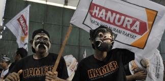 Pawai Partai Hanura/Foto Croup/Net/Nusantaranews