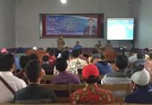 Sosialisasi empat pilar. (Foto Nurcholis/Nusantaranews)