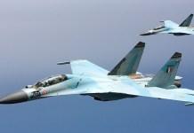 Jet Tempur Su-30K Rusia dikirim ke Angola 12 buah pada 2018 mendatang. (Militaryphotos)