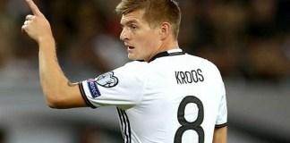 Bintang Real Madrid, Toni Kroos. (Getty Images)