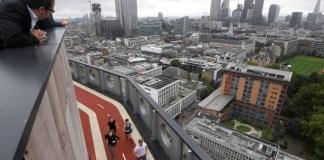 London Bangun Arena Berlari di Ketinggian 16 Lantai. Foto: Dok. Reuters