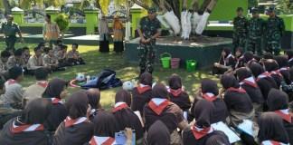 Kodim 0802 Ponorogo Ajak Para Pelajar Menyelami Makna Pancasila. Foto Pendim0208/ NusantaraNews.co