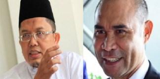 Alfian Tanjung dan Viktor Laiskodat. (Foto: Ilustrasi NusantaraNews)