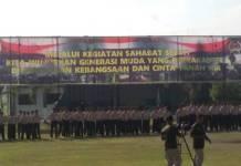 Selama 3 hari 2 malam, 250 peserta sahabat sejati yang di dominasi oleh para pelajar di wilayah tugas Korem 082/CPYJ, akhirnya dilepas oleh Kolonel Kav Gathut Setyo Utomo. (Foto: Istimewaa)