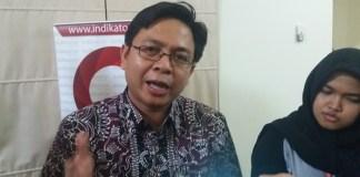 Burhanuddin Muhtadi, Peneliti Lembaga survei Indikator Politik Indonesia. Foto Restu Fadilah/ NusantaraNews