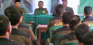 Gandeng Kodim 0815 Mojokerto Ansor Trowulan Gelar Diklatsar Banser. Foto Candra Yuniarti/ NusantaraNews