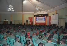 Prajurit dan PNS TNI diingatkan agar jangan berpolitik praksis. (Foto: Dok.Penrem/Istimewa)
