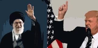 ILustrasi Konfrontasi AS-Iran