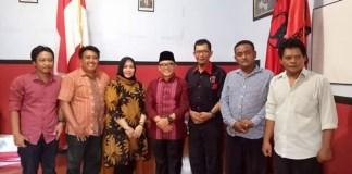 Azwar Anas Kunjungi Kantor PDIP Ponorogo (Foto: Nurcholis/Nusantaranews)