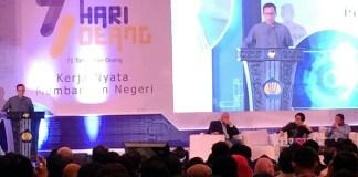 Pendiri Go-Jek Nadiem Makarim dalam acara Hari Oeang ke-71 di Gedung Dhanapala Kementerian Keuangan, Jakarta, Kamis (26/10/2017). Foto Richard Andika/ NusantaraNews