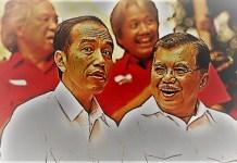 Presiden Joko Widodo dan Wakil Presiden Jusuf Kalla. (Foto: Istimewa)