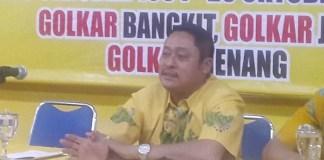 Ketua HUT Partai Golkar Jatim Kodrat Sunyoto (Foto: Tri Wahyudi/Nusantaranews)