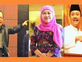 La nyalla, Khofifah dan Gus Ipul. lustrasi Foto NusantaraNews/NNCart