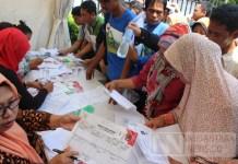 Anteran e-KTP di TMII (Foto: Andika/Nusantaranews)