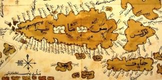 Menuskrip peta karya ulama Nusantara (Foto istimewa)