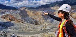 Lokasi tambang emas Newmont di Nusa Tenggara. (Foto: YouTube)
