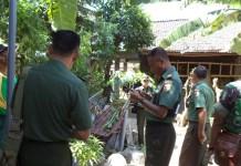 Pemantaun Pembuatan Sejuta Jamban (Foto Penrem/Nusantaranews)