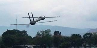 Pesawat lipat ITB (Foto via Antara)