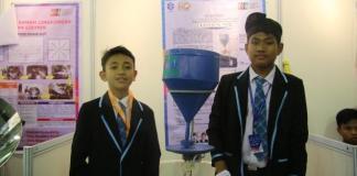 Siswa madrasah pamerkan hasil inovasinya (Foto Kemenag)