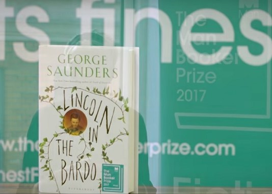 Novel Lincoln in the Bardo karya George Saunders jadi pemenang Man Booker Prize 2017. Foto: Cop by NNCart/ NusantaraNews