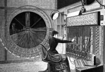 Paris telephone exchange c.1892 (Ilustrasi). Foto: Dok. Getty Images
