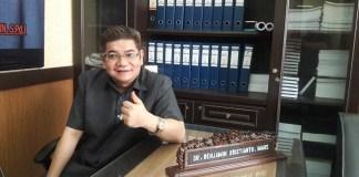 anggota komisi A DPRD Jatim dr. Benyamin Kristianto MARS. Foto Tri Wahyudi/ NusantaraNews