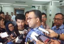 Gubernur DKI Jakarta Anies Baswedan. (Foto: Ucok Al Ayubbi/Nusantaranews)