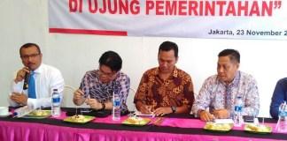 Diskusi Resuffle di Ujung Pemerintahan (Foto Ucok A/Nusantaranews.co)
