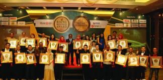 """Peraih penghargaan """"Pertama di Indonesia"""" 2017 dari TRAS N CO Research. Foto:. Dok. Istimewa"""