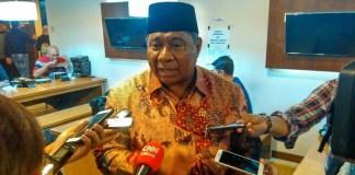 Ketua DPP Partai Amanat Nasional (PAN) Ali Taher Parasong. Foto Ucok Al Ayubbi/ NusantaraNews