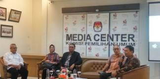 Diskusi bertajuk Potensi Konflik Pilkada Serentak 2018 di Kantor KPU, Menteng, Jakarta Pusat, Selasa (7/11/2017). (Foto: Ucok Al Ayubbi/NusantaraNews)