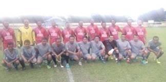 Turnamen sepakbola piala Old Crack Dandim 2017, Kodim 0208/AS berhasil mengalahkan Polres Tanjungbalai dengan Score 6-0 yang dilaksanakan di Stadion Mutiara Kisaran kabupaten Asahan, Selasa (7/11) sore. (Foto: Istimewa)