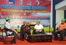 Anggota Komisi I DPR RI, Syaiful Bahri Anshori (Dua dari Kiri). Foto Istimewa/ Ucok Al Ayubbi/ NusantaraNews