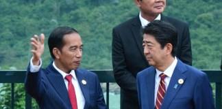 Presiden Joko Widodo saat hadiri sesi pertama Pertemuan Ke-25 Pemimpin Ekonomi APEC di Da Nang, Viet Nam. Foto Dok. Bey Machmudin/Setpres