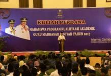 Calon Gubernur dan Wakil Gubernur Jawa Timur Syaifullah Yusuf (Gus Ipul). Foto: Tri Wahyudi/NUSANTARANEWS