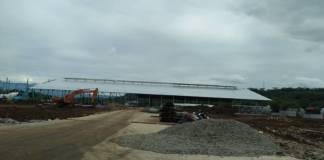 Pembanguan industri sedang dikerjakan di wilayah Babakan Cikao (BBC) Purwakarta, Jawa Barat yang oftimis berdampak pada ekonomi pesat warga Purwakarta. Foto: Fuljo/NusantaraNews