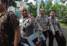 Jajaran Polda Metro Jaya ke KPK (Foto Restu Fadilah/Nusantaranews.co)