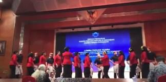 Paduan Suara BPK sambut HUT Korpri ke-46 (Foto Istimewa)