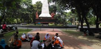 Taman Monumen 45 Banjarsari (Foto via tribun)
